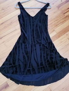 Dismitria Burn out fit and flare Dress sz.M